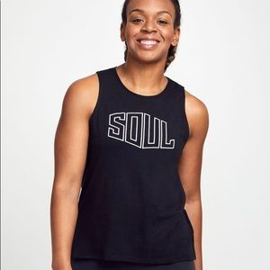SoulCycle Keyhole Tank Top